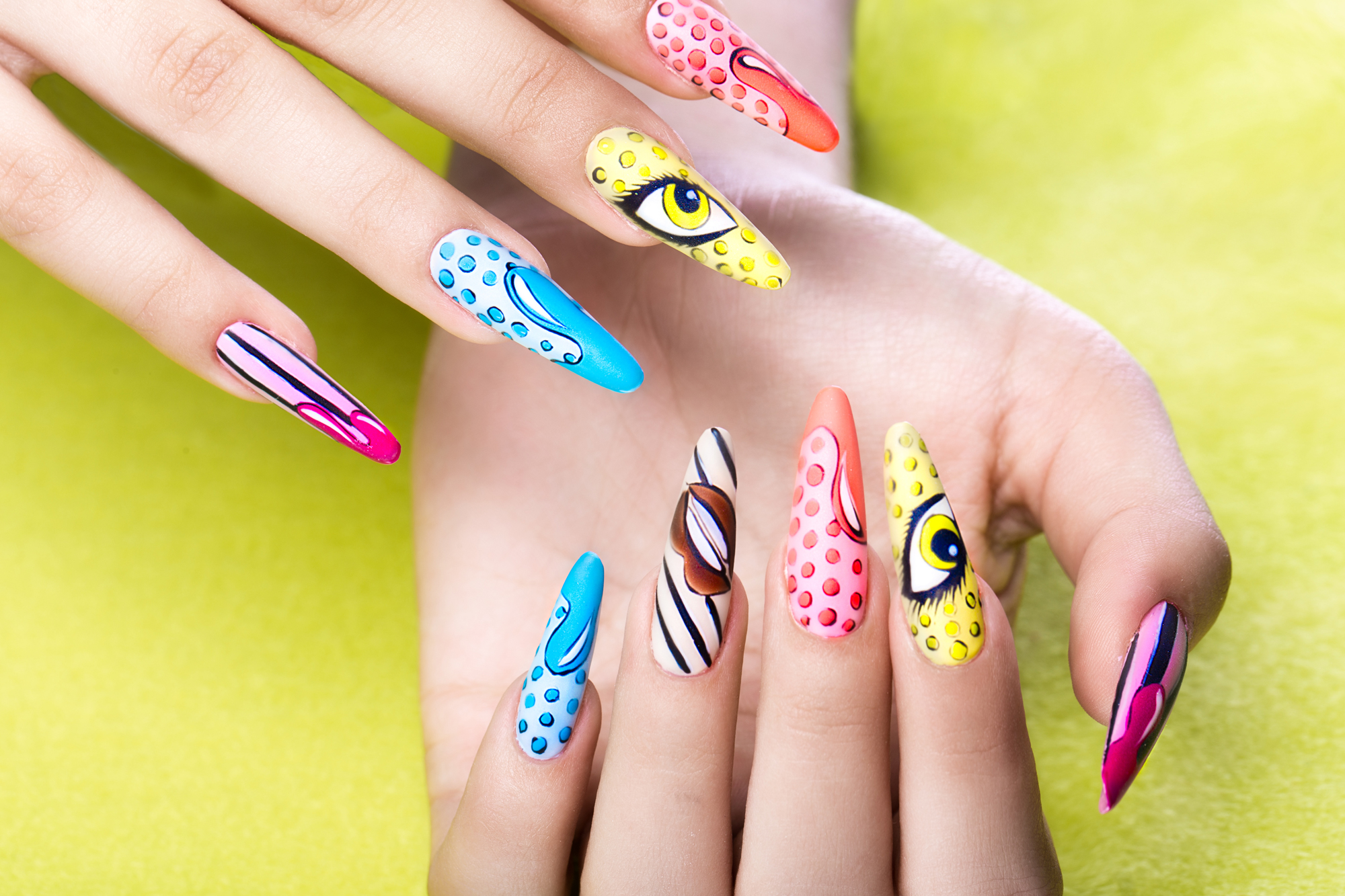 Cost Of Nail Painting Uk