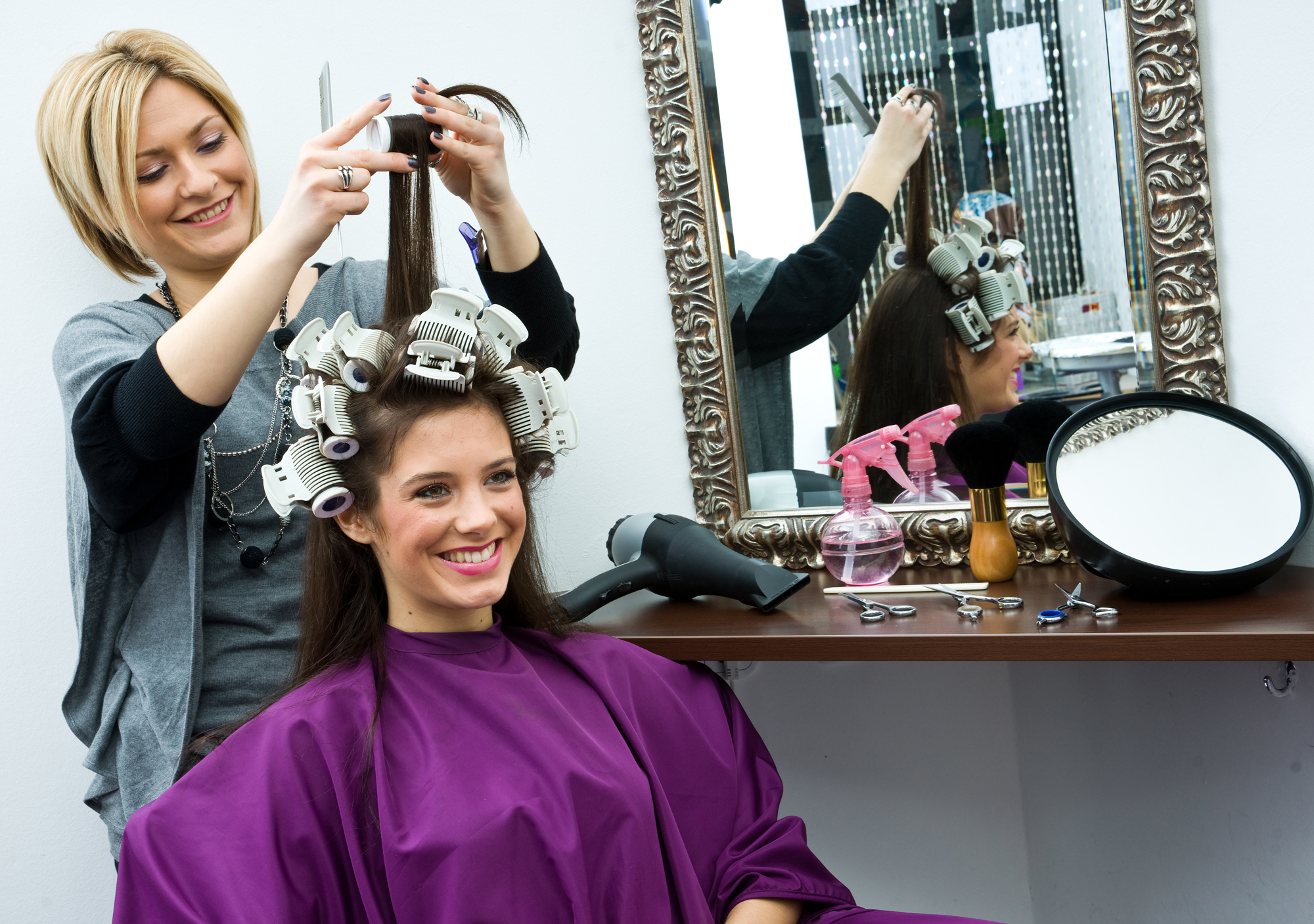 setting up freelance mobile hair beauty business